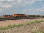A pair of GEVO's and a pair of ACe's pass each other in the yard