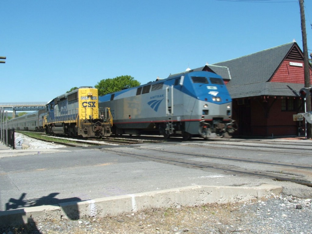 AMTK and CSXT in BRUNS