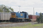 CSX 1174 with the intermodal transfer