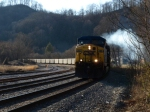 CSX 285 smokes it up