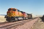 Westbound intermodal climbs upgrade