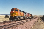 Westbound intermodal uphill