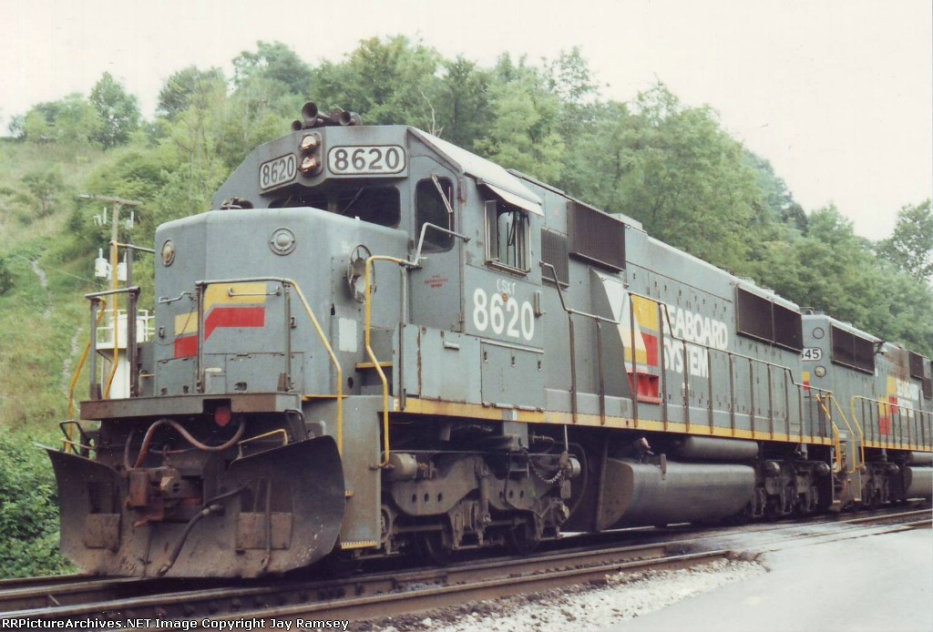 CSX 8620 and 8645