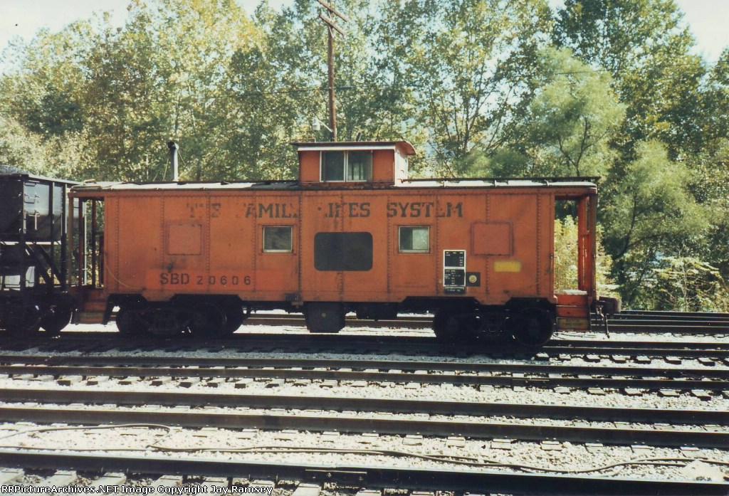 SBD 20606 caboose