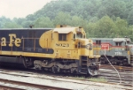 ATSF 8023 and CSX 7081 posing for a shot