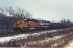 Westbound coal train on the CP