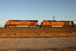 BNSF 7403 and BNSF 4020