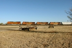 BNSF 7403, 4020, 1005, and 4912