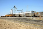 BNSF 8918 and BNSF 9861