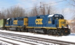 CSX 2385 and 6985 slug and mother