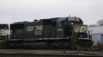 NS 2543 waiting in Roanoke yard with NS 3224.