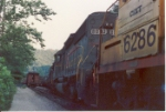CSX 6286 and friends