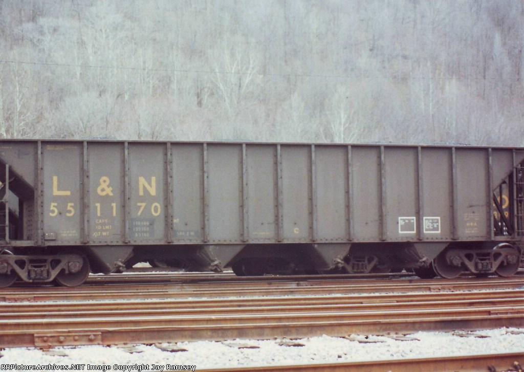L&N 551170 hopper