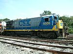CSX 5506 is used for local power