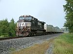 NS 9323 leads this NB Roadrailer