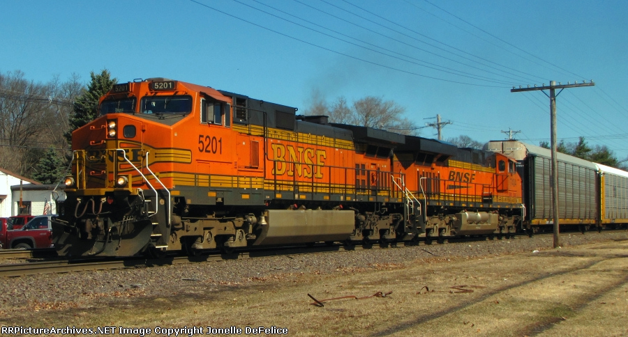 Pan Am Southern Train AYMO With BNSF Power