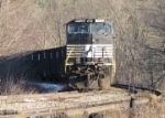 Empty Bow NH Coal Train