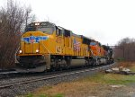 UP/BNSF/NS Power on Pan Am Southern Train 23K