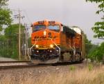 Pan Am Southern Train AYMO w/BNSF Power
