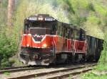 Empty P&W Coal Train