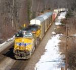 Pan Am Southern Intermodal/Autorack Train AYMO