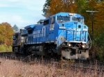 Empty Bow Coal Train