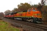 Empty Bow NH Coal Train BOPW