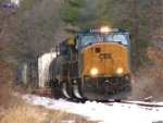 Guilford/CSX Train AYSE