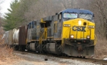 CSX power on train WASE