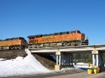 Highball BNSF 7473 east