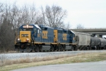 CSX Local J756 has returned to Bowling Green led by CSX 2368/CSX 6968 2/25/09