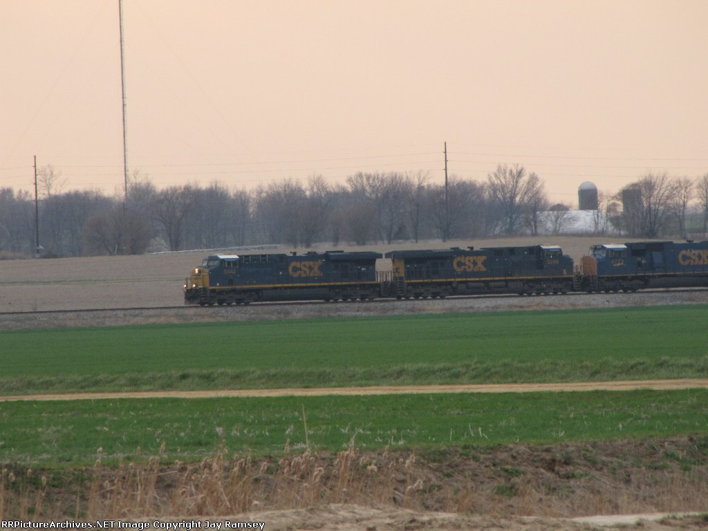 CSX 5442, 5246 and 4773