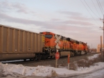 BNSF 9983 and 5777