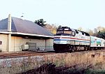 Amtrak 244 leads the Vermonter