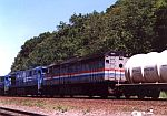 Amtrak 325 assists on this freight