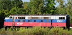 Old Metro North F unit rusts out