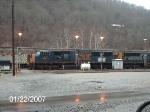 CSX 4766 in Hazard