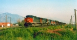 Southern Pacific's Provo-Salt Lake City Local,Orem,Utah August 21,1996.