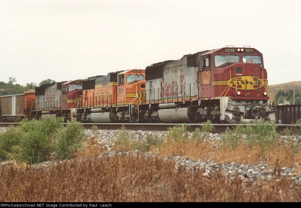 Eastbound coal loads depart
