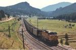DPU on eastbound coal train