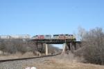 KCS_2856_1914 at Denton, the bridge over the old MKT/MP railroad