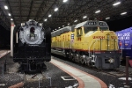 UP 833 & UP 6916 at the Utah State Railroad Museum