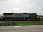 CSXT 4683 sits on the Fertilizer Lead