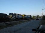 CSXT 4679 & 8007 on today's O807-15