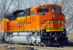 BNSF 9310 in all her new splendor