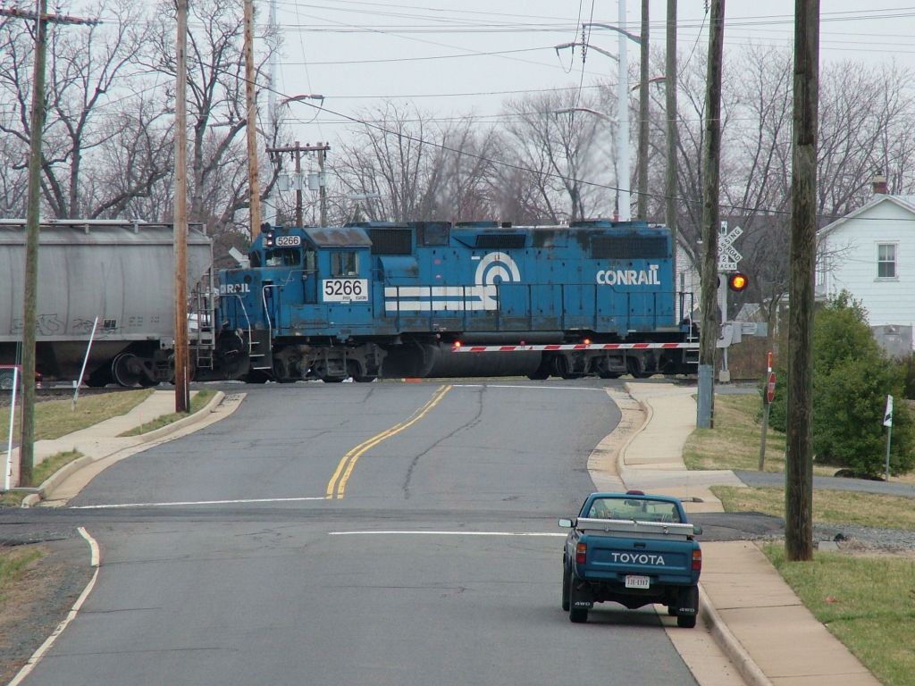 Pushing the whole train through the wye