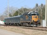 CSX track geometry train