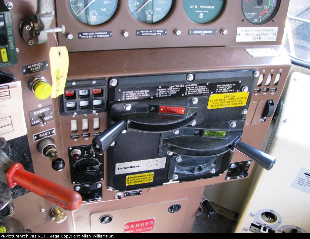 Engineers View in a CSX Roadslug