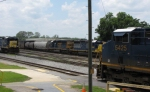CSX 5425, 8144, 8160, and 5947