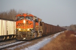 BNSF 7404 waiting at MP 15.9